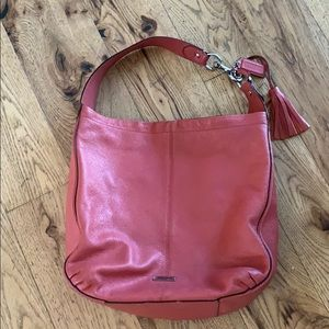Coral Coach unstructured bag
